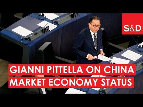Embedded thumbnail for Gianni Pittella: NO to Market Economy Status for China