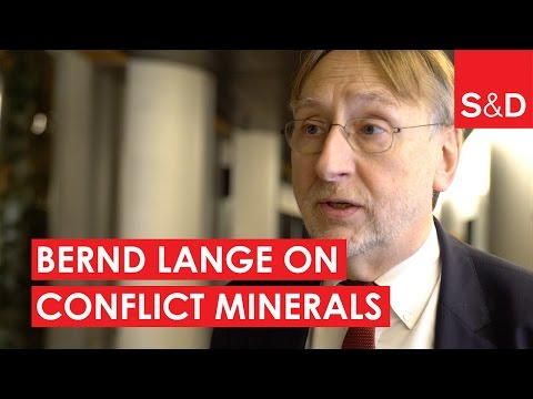 Embedded thumbnail for Bernd Lange on Conflict Minerals