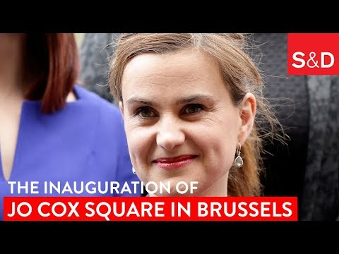 Embedded thumbnail for Jo Cox Square inauguration