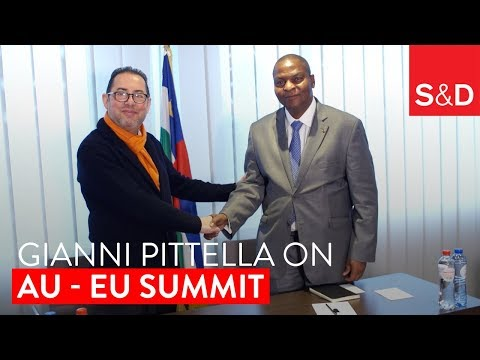 Embedded thumbnail for Gianni Pittella's Message for the African Union-European Union Summit