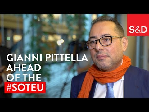 Embedded thumbnail for Gianni Pittella ahead of the State of the Union