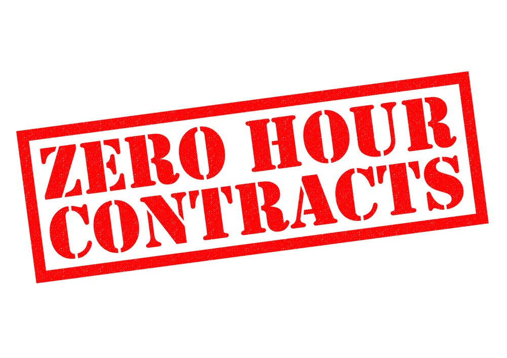 Stamp of ZERO HOUR CONTRACTS